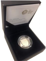 2009 Silver Proof One Pound Coin for sale